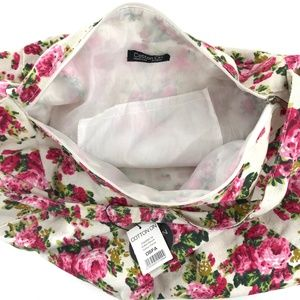 Cotton On Bags - NWT Cotton On Hobo Slouch Floral Bag Purse Roses